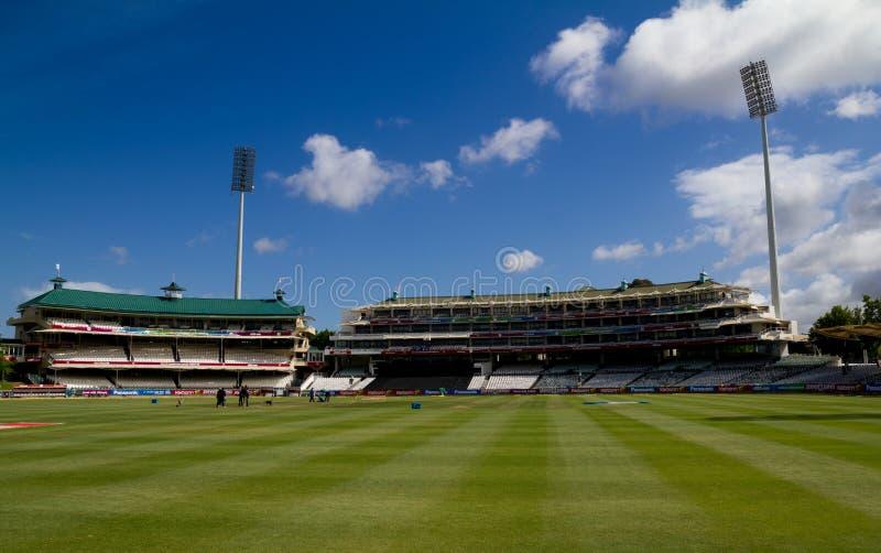 Campo di cricket di Newlands immagine stock