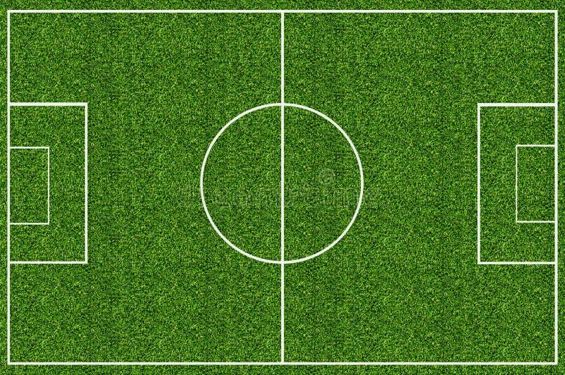 Campo di erba verde per calcio illustrazione di stock