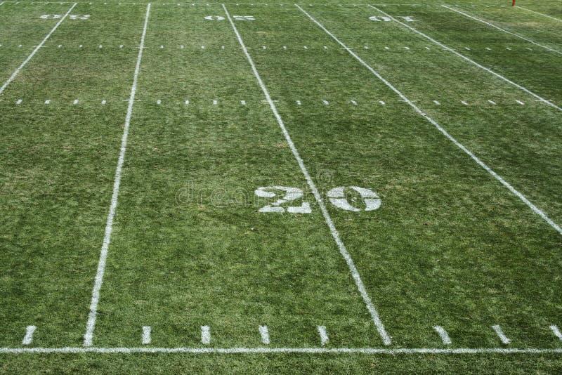 Campo di football americano 20 immagini stock