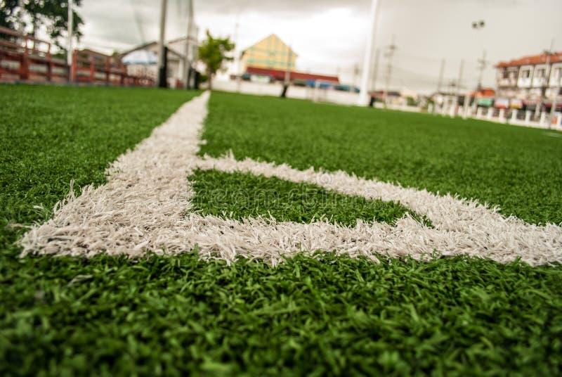 Campo di football americano immagini stock libere da diritti