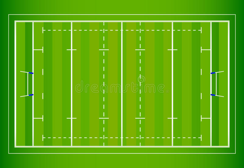 Campo do rugby