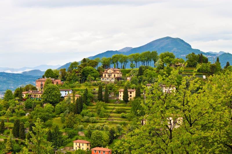 Campo en Lombardia, Italia fotos de archivo libres de regalías