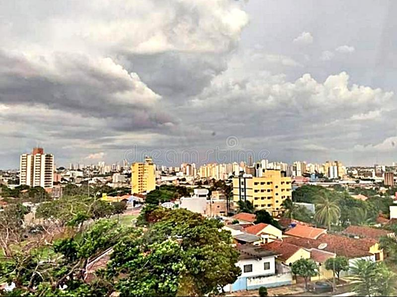 Campo Grande Brasilien arkivfoton