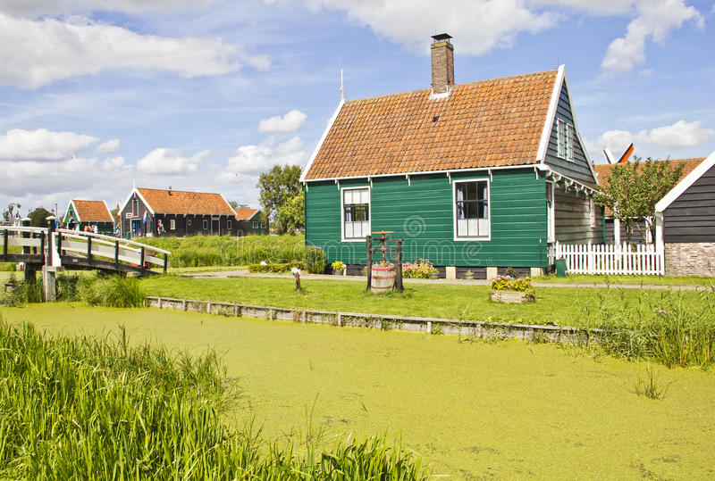 Campo holandés foto de archivo