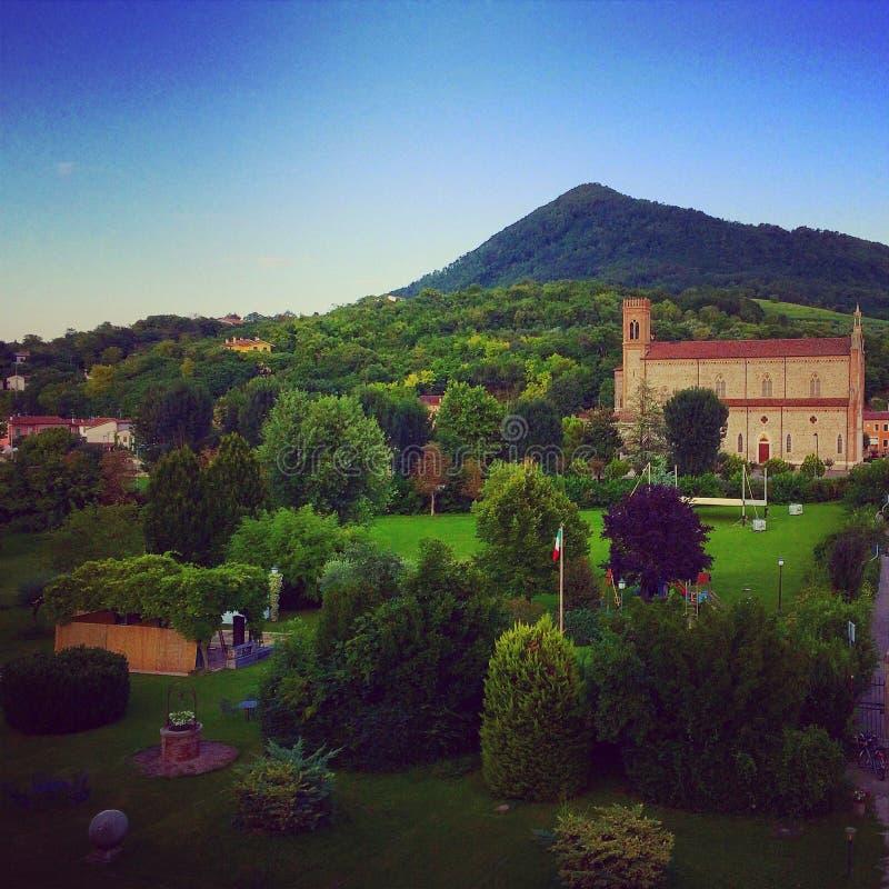 Campo italiano foto de archivo