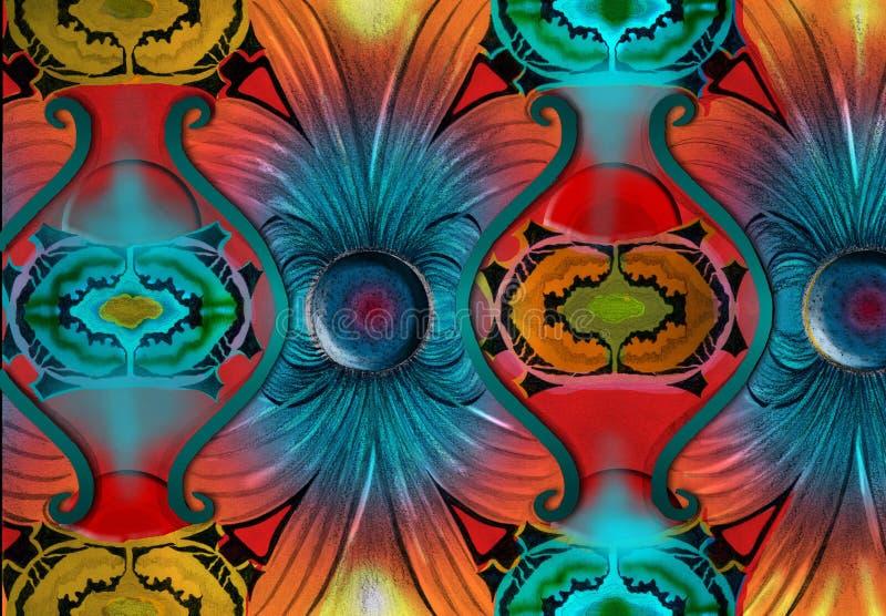 Campo magnético abstrato fotografia de stock