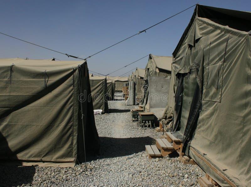 Campo militar imágenes de archivo libres de regalías