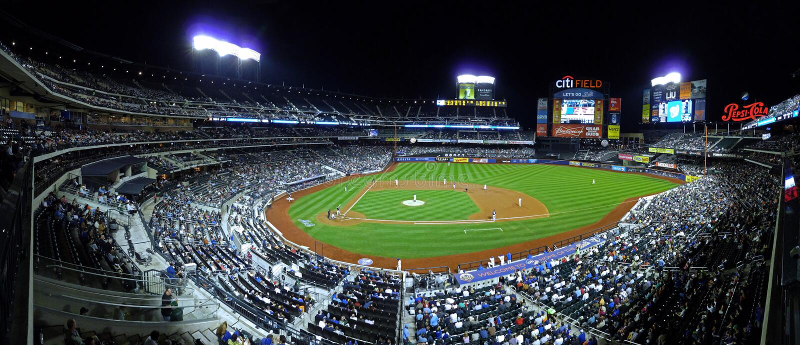 Campo New York - baseball di Citi immagini stock libere da diritti