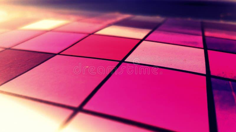 Campo púrpura abstracto fotos de archivo