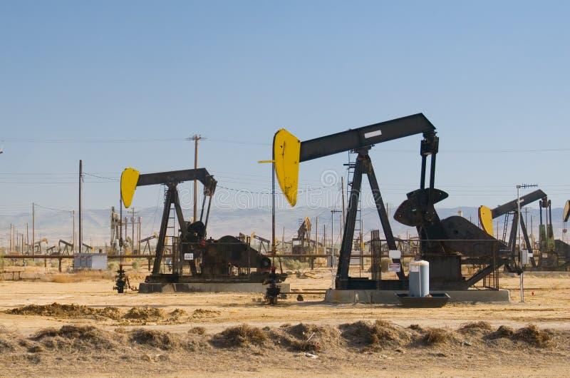 Campo petrolífero II foto de archivo libre de regalías