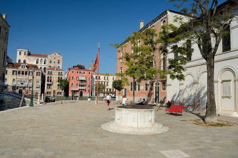 Download Campo S. Vio Square At Grand Canal In Venice, Italy Editorial Photography - Image: 83706037