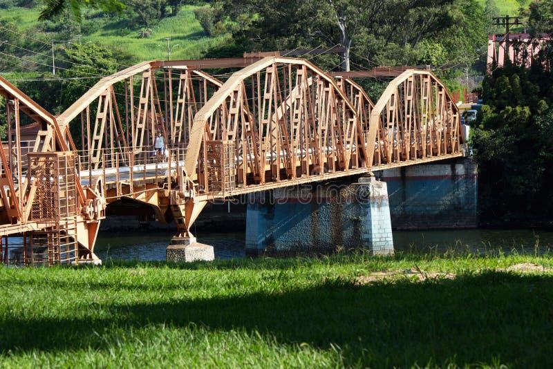 Campo Salles da ponte fotografia de stock royalty free