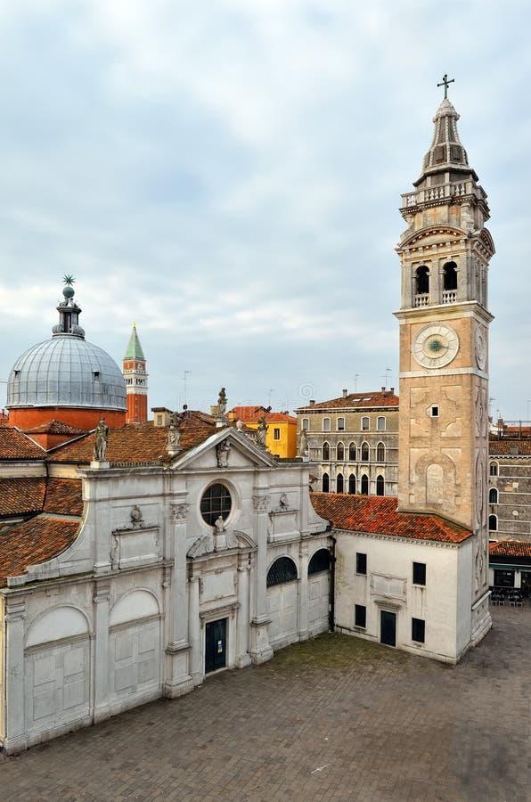Campo Santa Maria Formosa, Venice royalty free stock photos