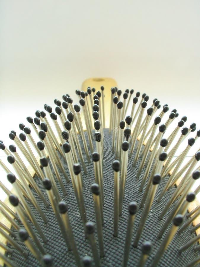 Campo Spiky imagem de stock