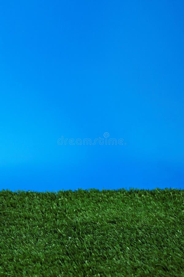 Campo y cielo - tiro del estudio foto de archivo libre de regalías