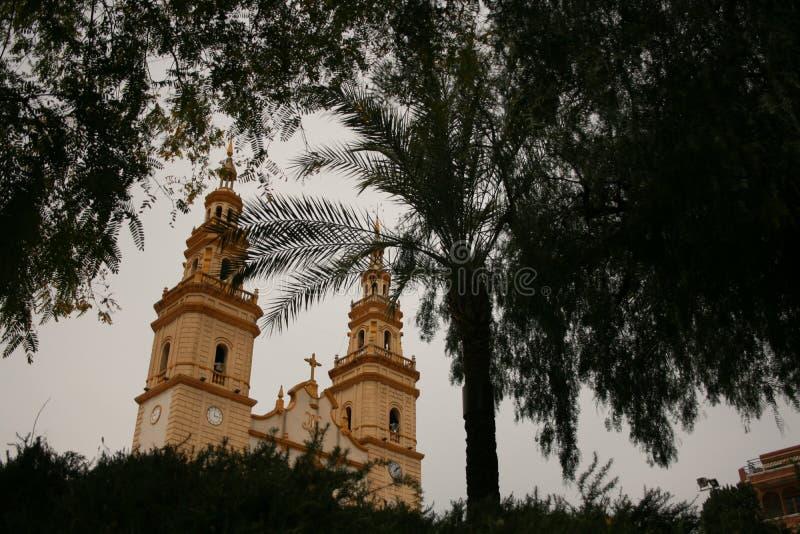 CAMPOAMOR «S kościół ALCANTARILLA, HISZPANIA zdjęcia stock