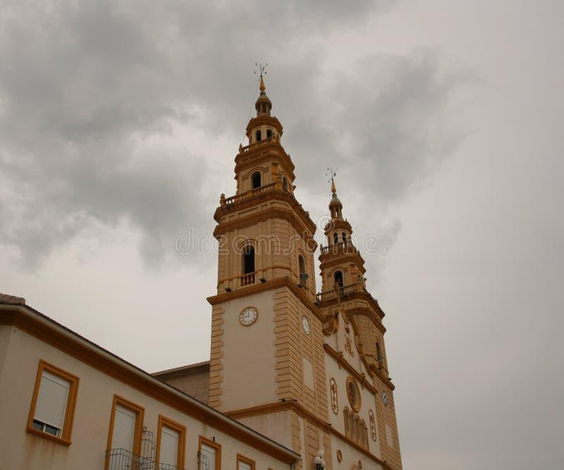 CAMPOAMOR 'S-KERK ALCANTARILLA, SPANJE 2 stock foto's
