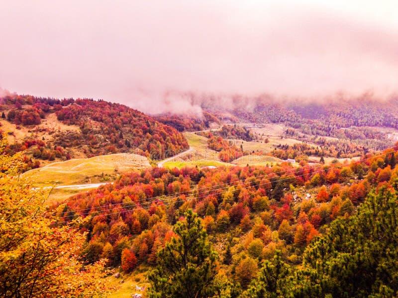 Campogrosso im Herbst stockfotografie