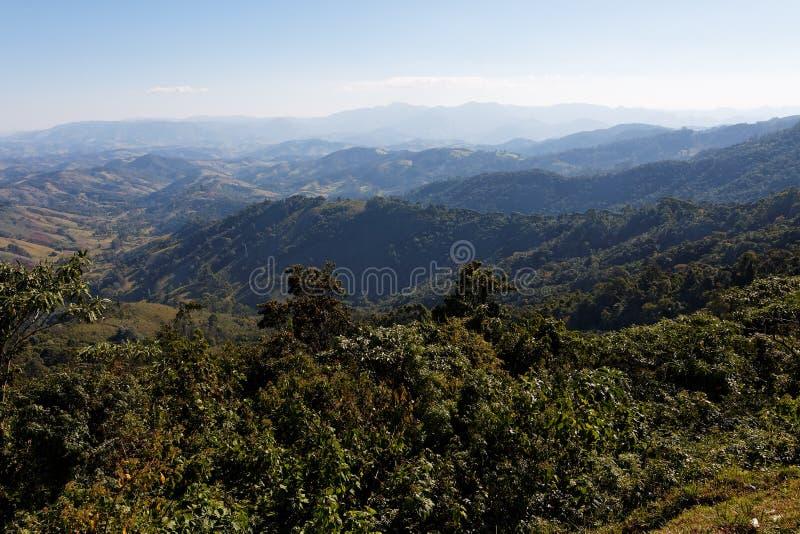Campos faz montanhas de Jordao fotos de stock