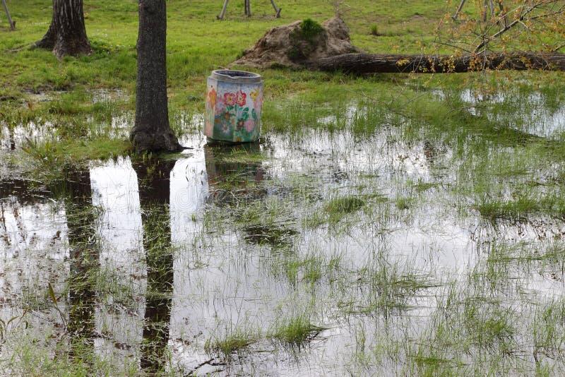 Download Campos inundados imagen de archivo. Imagen de overflowing - 44852985