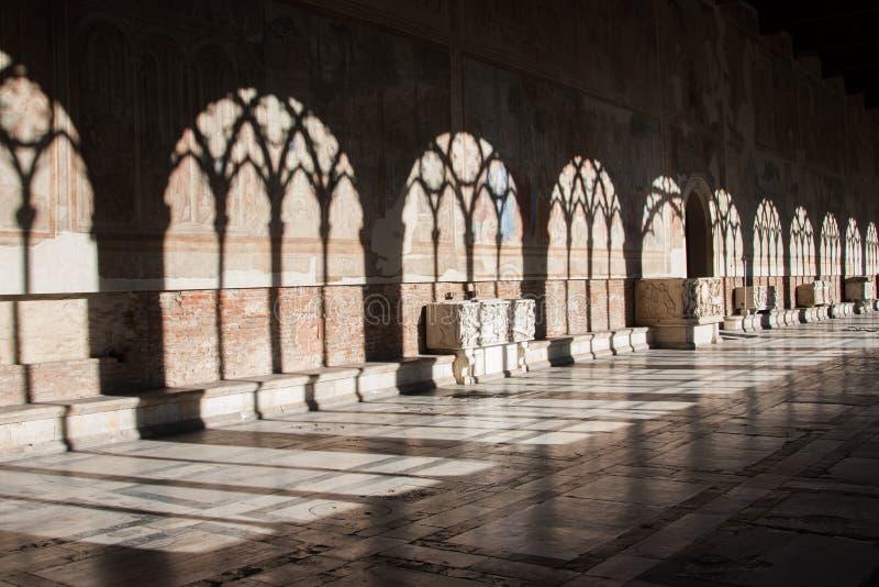 Camposanto en Pisa foto de archivo libre de regalías