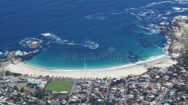 Camps Bay Beach, Cape Town,  South Africa stock image