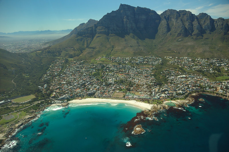 Download Camps Bay (South Africa) stock image. Image of skyline - 4702445