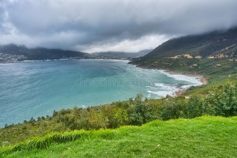 Camps Bay in South Africa royalty free stock images