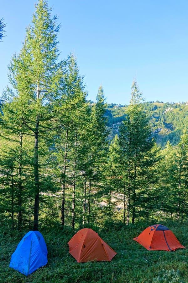 campsite стоковые фотографии rf