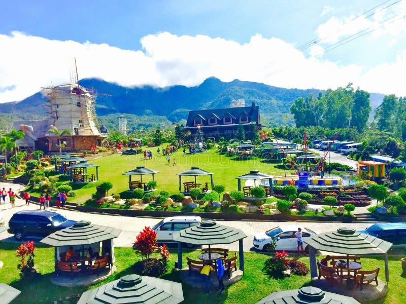 Campuestohan höglands- semesterort royaltyfri bild