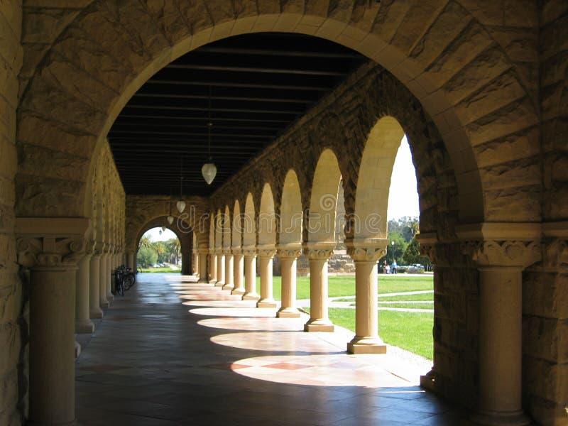 Campus imagen de archivo libre de regalías