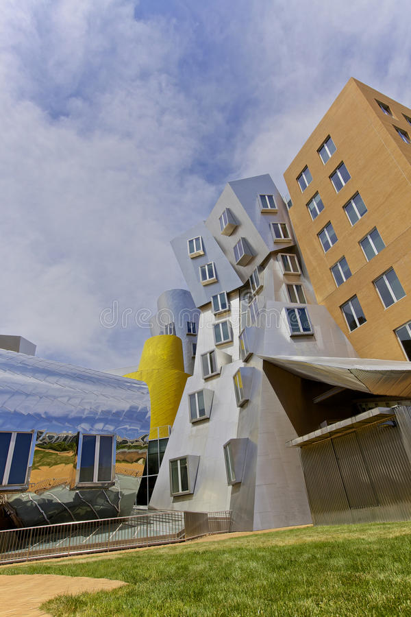 Campus, Boston imagen de archivo