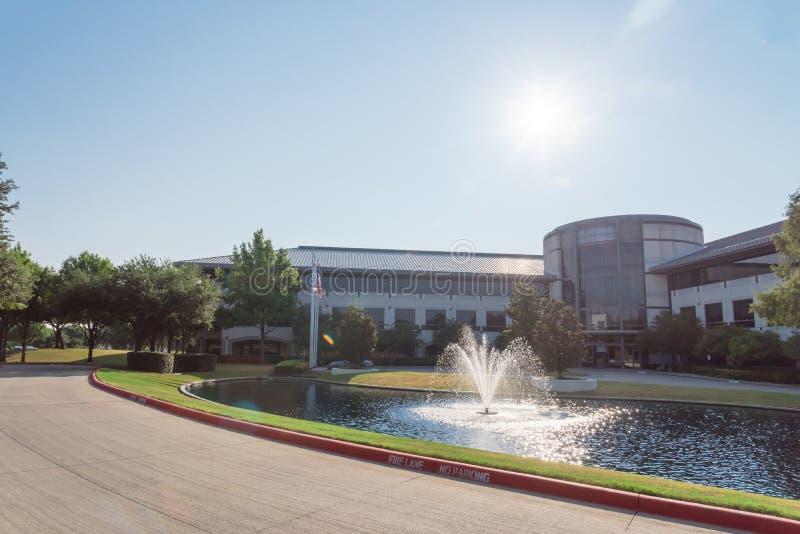 Campus corporativo de las jefaturas del Dr. Pepper de Keurig en Plano, Texa foto de archivo