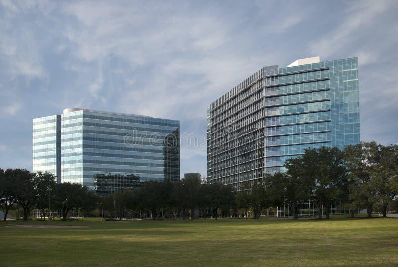 Campus d'affaires image libre de droits