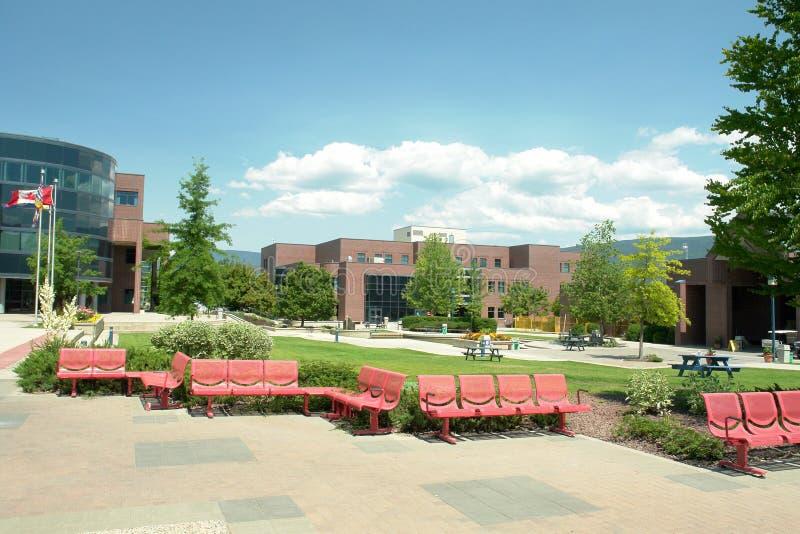 Campus d'UBC Okanagan photo stock