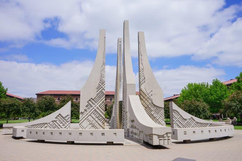 Campus d'Université de Purdue photo stock