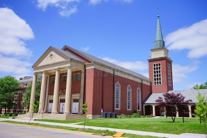 Campus d'Université de Purdue photo libre de droits