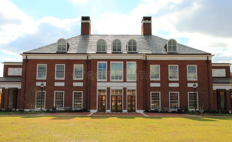 Campus d'Université John Hopkins image stock