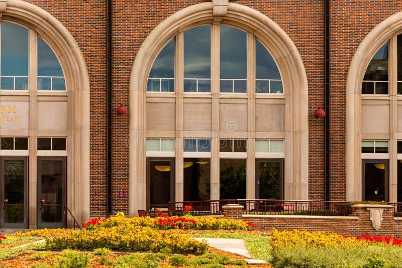 Campus de la universidad fotografía de archivo libre de regalías