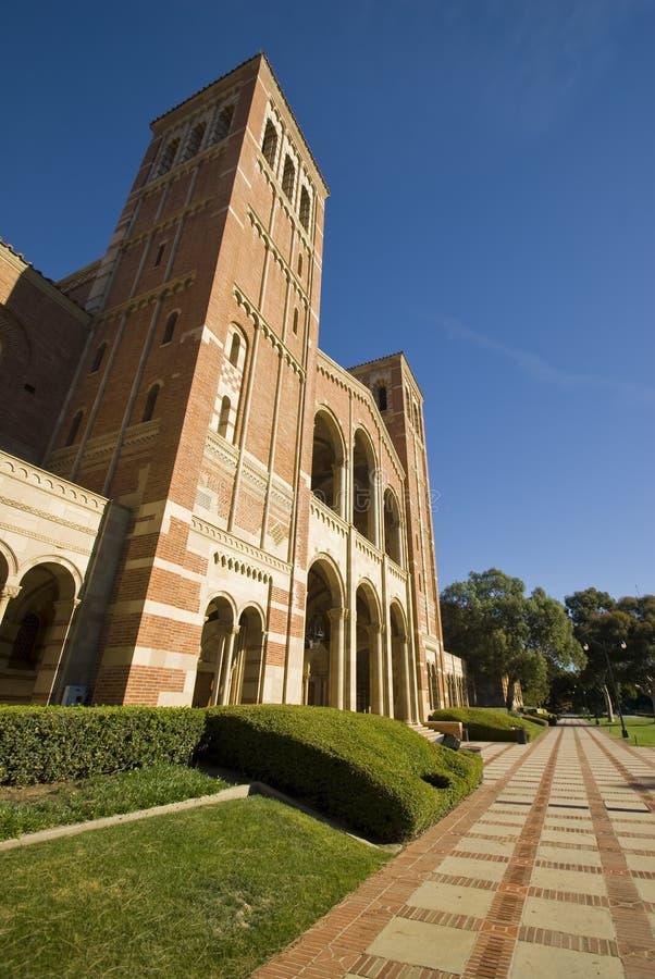 Campus de la Universidad foto de archivo