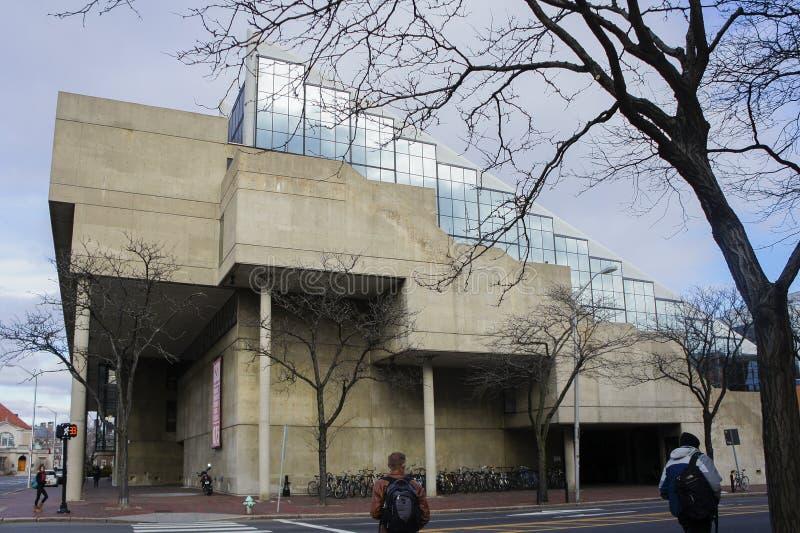 Campus de la Universidad de Harvard foto de archivo libre de regalías