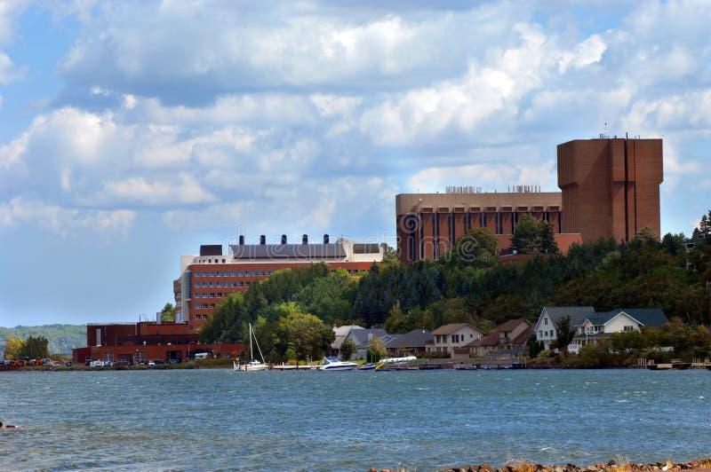 Campus de la universidad tecnológica de Michigan imagen de archivo