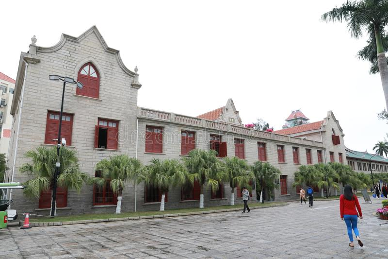 Campus de la universidad de Xiamen fotos de archivo libres de regalías