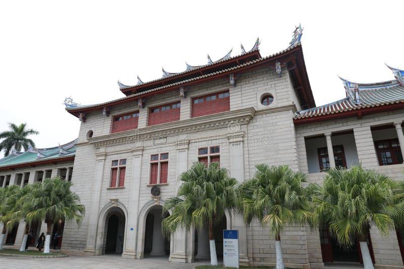Campus de la universidad de Xiamen imágenes de archivo libres de regalías