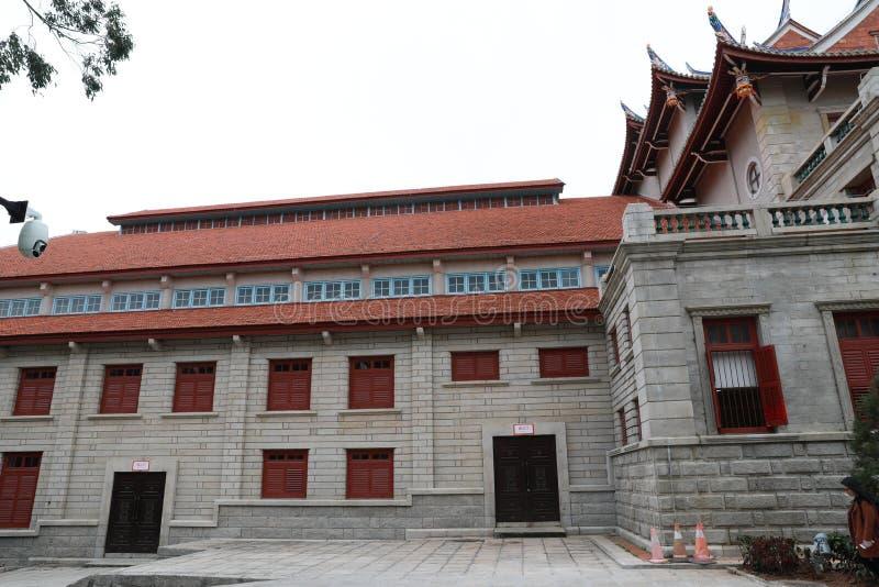 Campus de la universidad de Xiamen foto de archivo libre de regalías