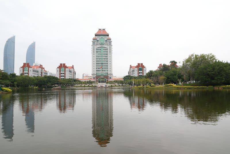 Campus de la universidad de Xiamen imagen de archivo libre de regalías