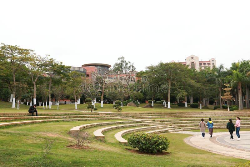 Campus de la universidad de Xiamen fotos de archivo