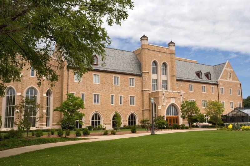 Campus de Notre Dame images libres de droits