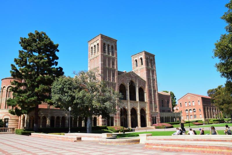 Campus del UCLA imágenes de archivo libres de regalías