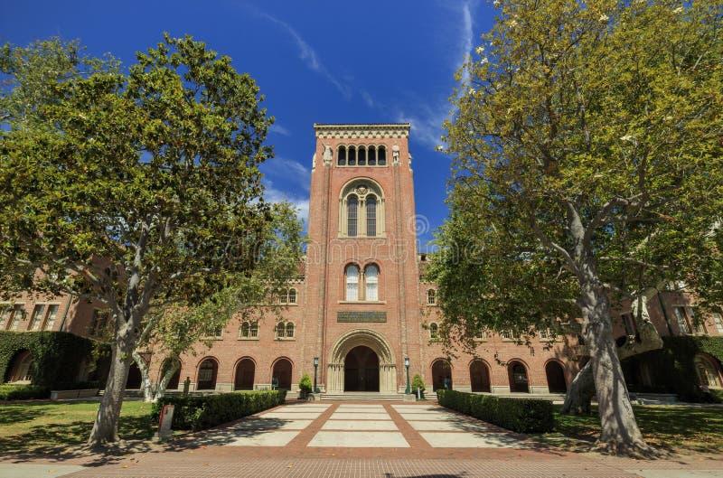 Campus der Universität von Süd-Kalifornien lizenzfreies stockbild